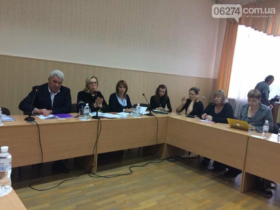 Комитет Верховной Рады Украины прибыл в Бахмут с рабочей поездкой, фото-7