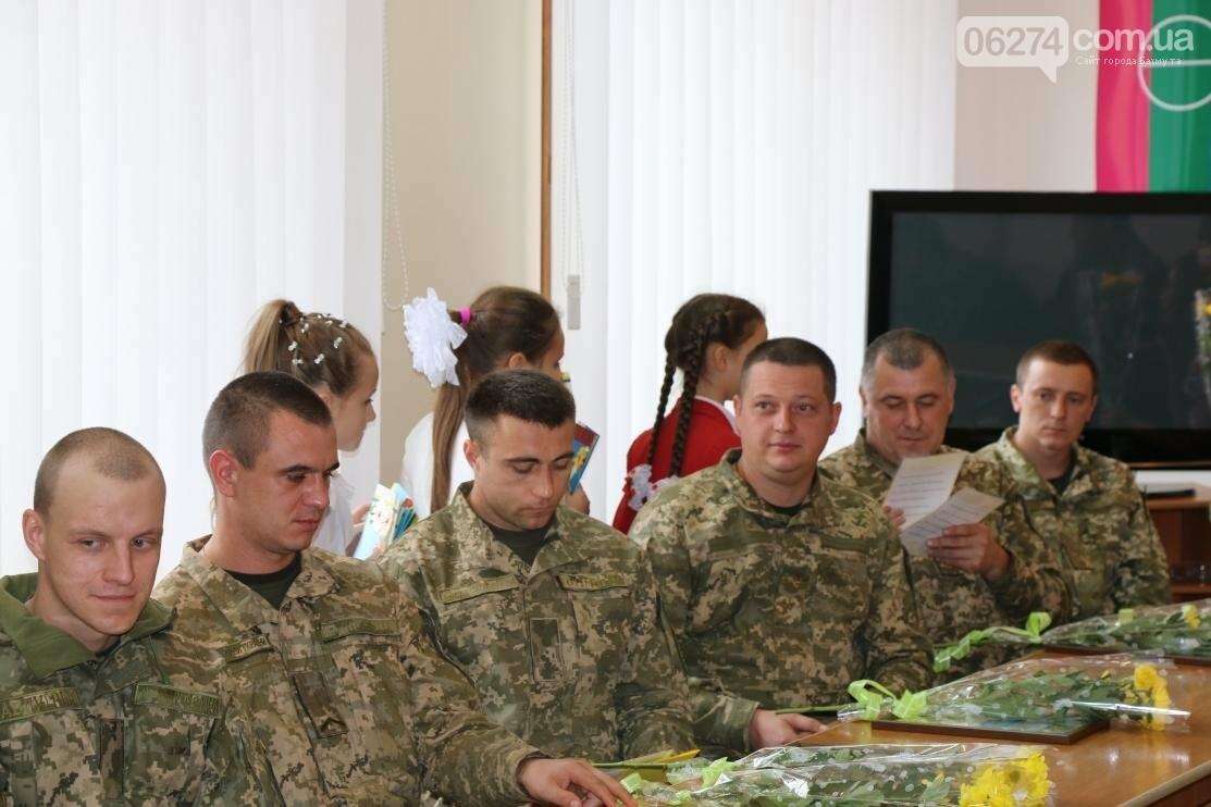 С Днем Защитника Украины военнослужащих поздравил мэр Бахмута, фото-22