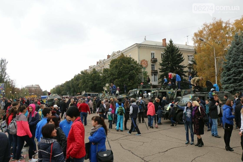 День защитника Украины отмечают в Бахмуте (ФОТОРЕПОРТАЖ), фото-3