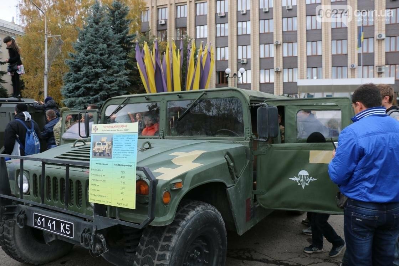 День защитника Украины отмечают в Бахмуте (ФОТОРЕПОРТАЖ), фото-8