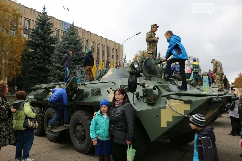 День защитника Украины отмечают в Бахмуте (ФОТОРЕПОРТАЖ), фото-15