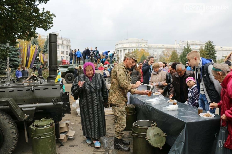 День защитника Украины отмечают в Бахмуте (ФОТОРЕПОРТАЖ), фото-9