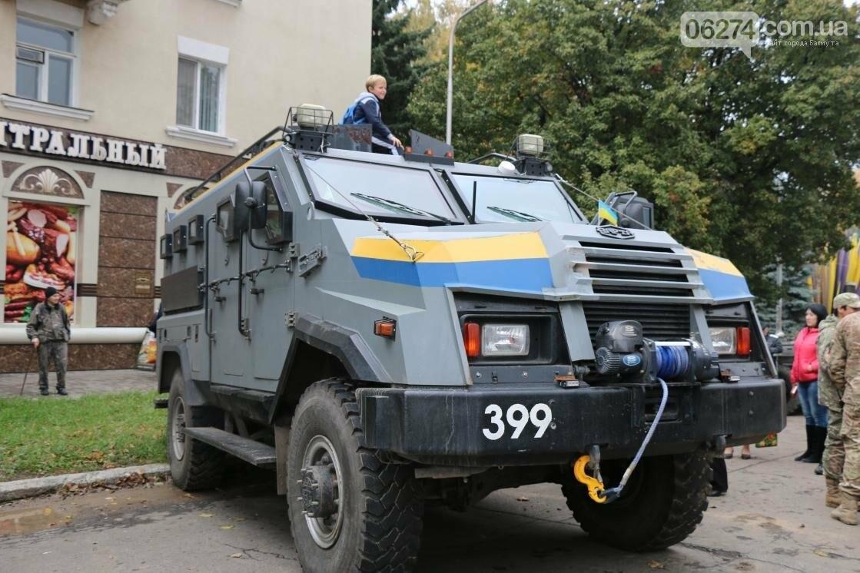День защитника Украины отмечают в Бахмуте (ФОТОРЕПОРТАЖ), фото-10
