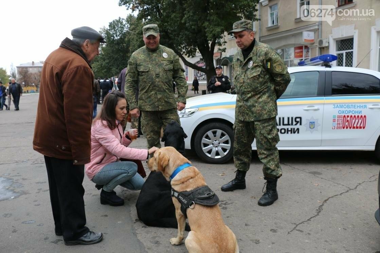 День защитника Украины отмечают в Бахмуте (ФОТОРЕПОРТАЖ), фото-16