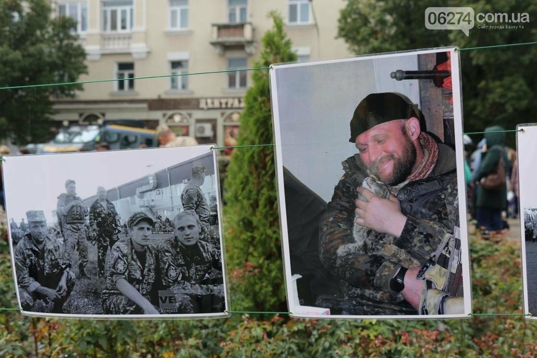 День защитника Украины отмечают в Бахмуте (ФОТОРЕПОРТАЖ), фото-33
