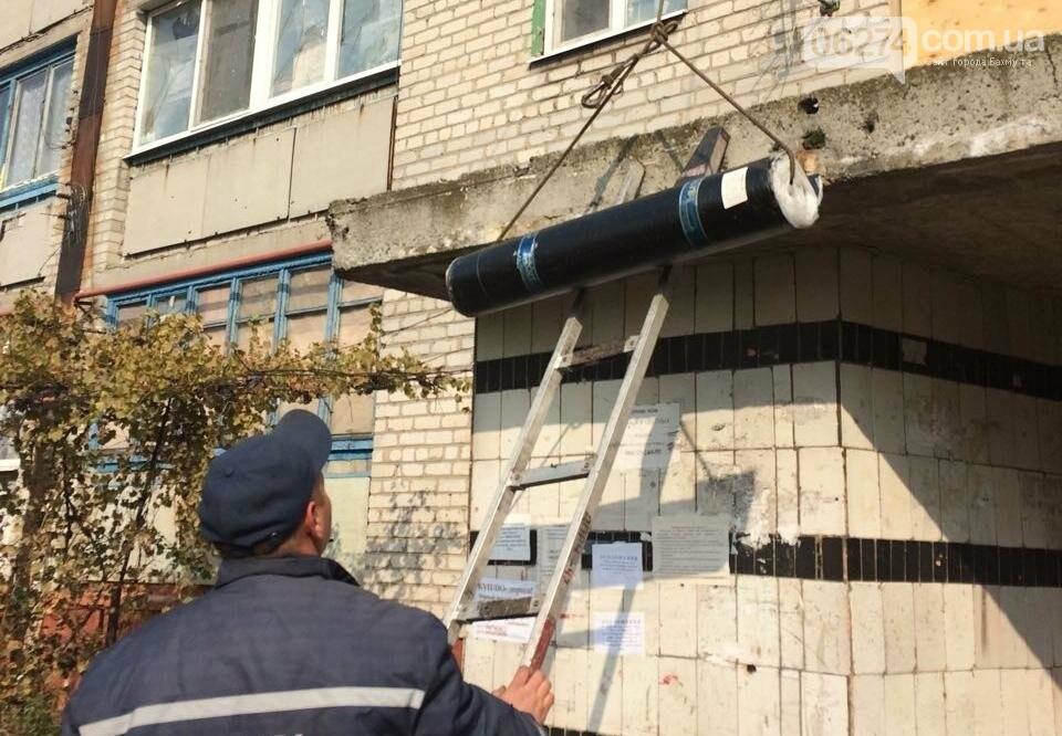 В Бахмутском районе восстанавливают дома после обстрелов, фото-2
