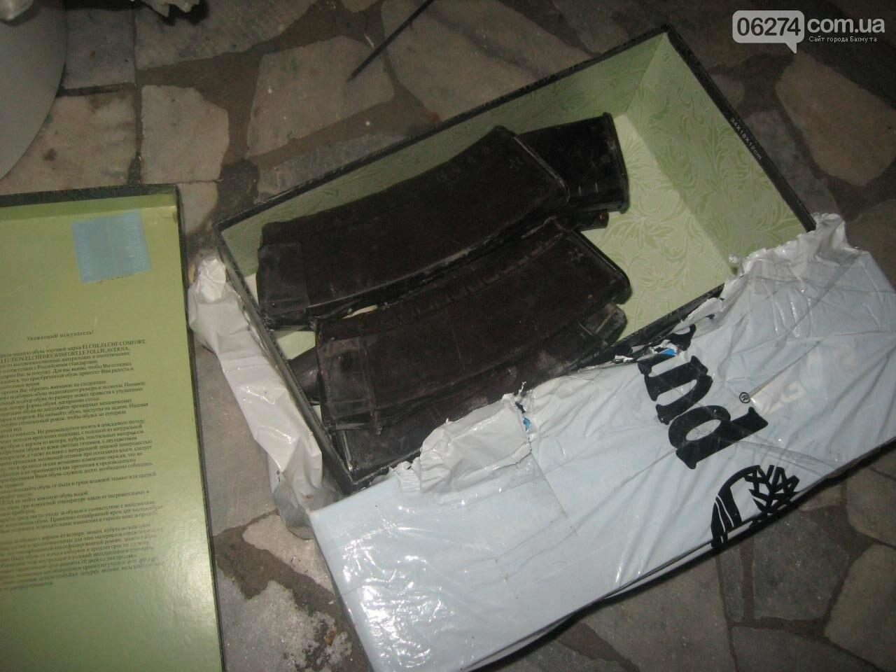 В одной из квартир города бахмутчанин прятал арсенал боеприпасов, фото-1