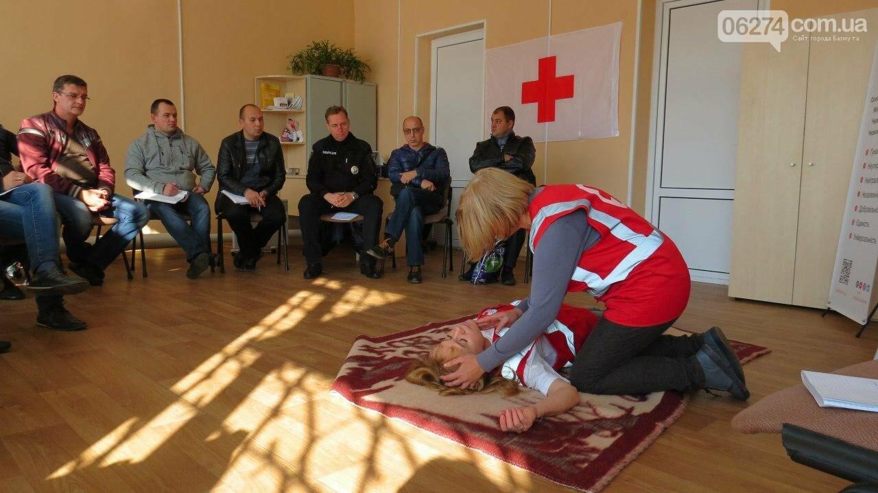 Полицейских Бахмута учили оказывать доврачебную помощь, фото-6