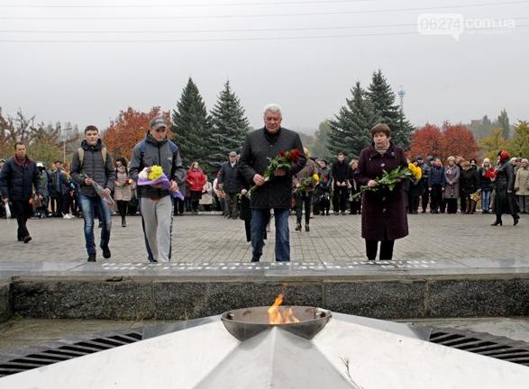 В Бахмуте отметили 73-ю годовщину Дня освобождения Украины от фашистских захватчиков, фото-4