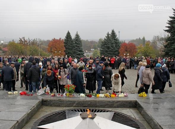 В Бахмуте отметили 73-ю годовщину Дня освобождения Украины от фашистских захватчиков, фото-6