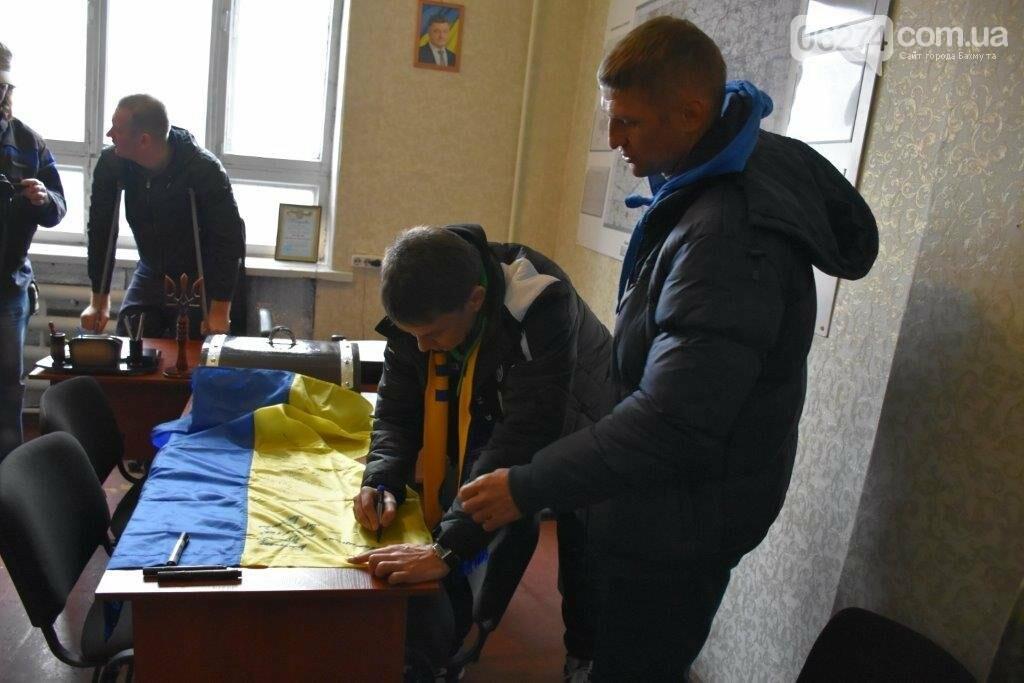 Мирон Маркевич, Владимир Езерский и Игорь Цыганик посетили пограничников в Бахмутском районе, фото-2
