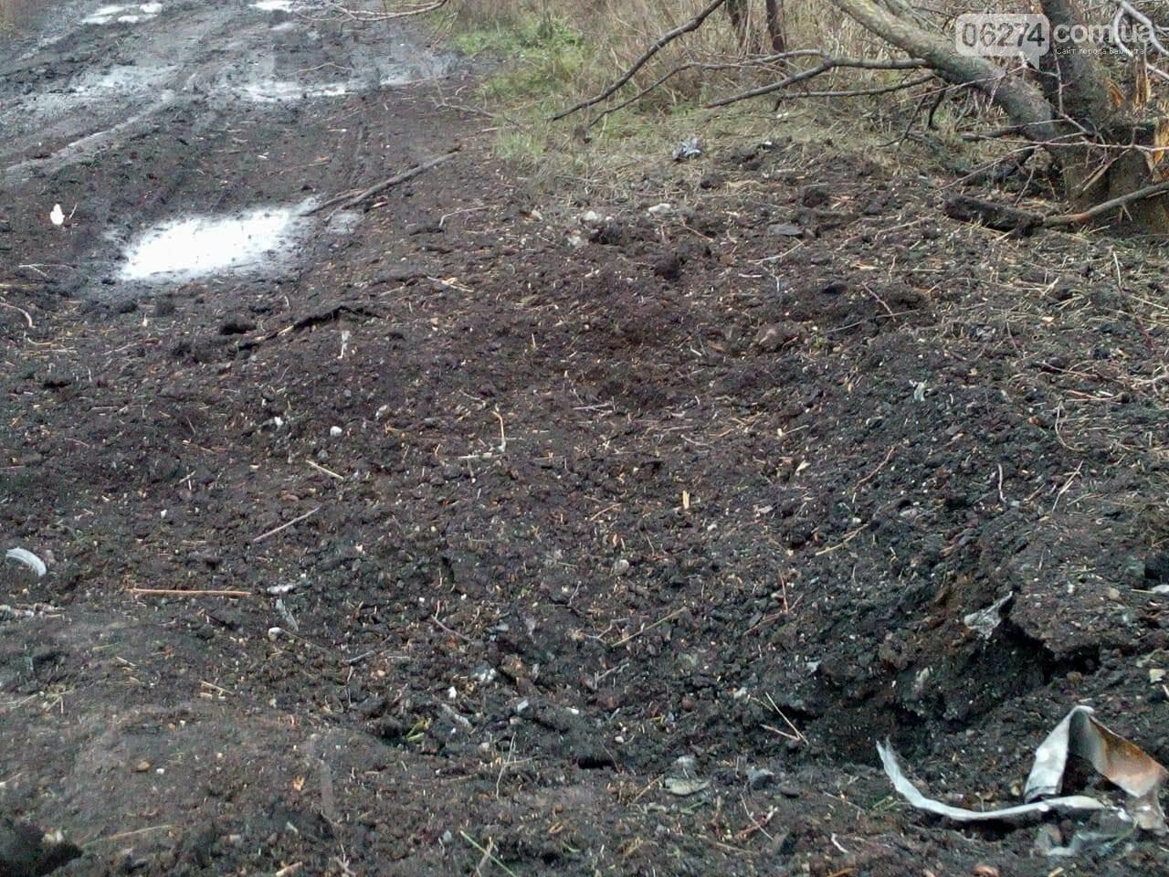Поселок Бахмутка попал под обстрел (ФОТО), фото-7