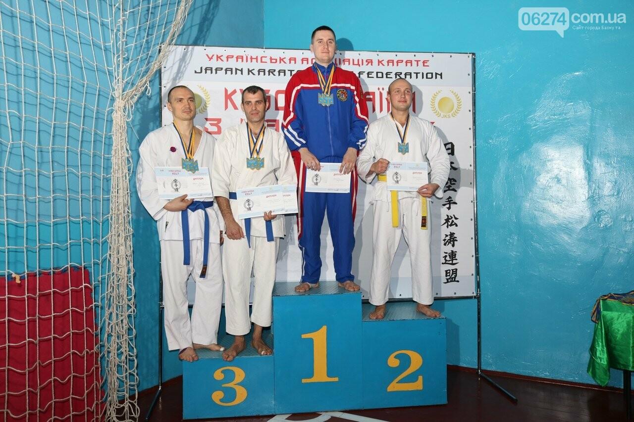 Каратисты Бахмута в составе областной сборной завоевали бронзу на Кубке Украины, фото-7