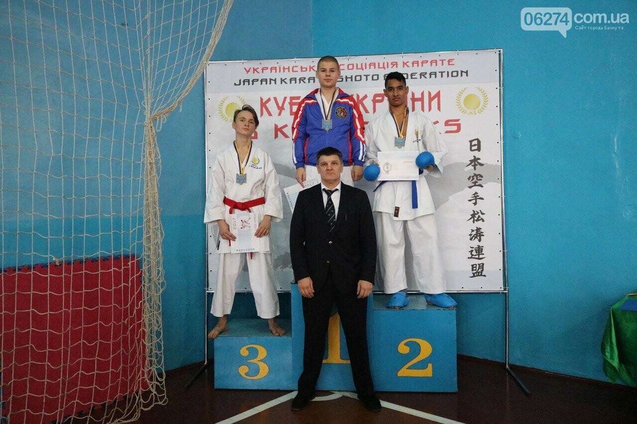 Каратисты Бахмута в составе областной сборной завоевали бронзу на Кубке Украины, фото-6