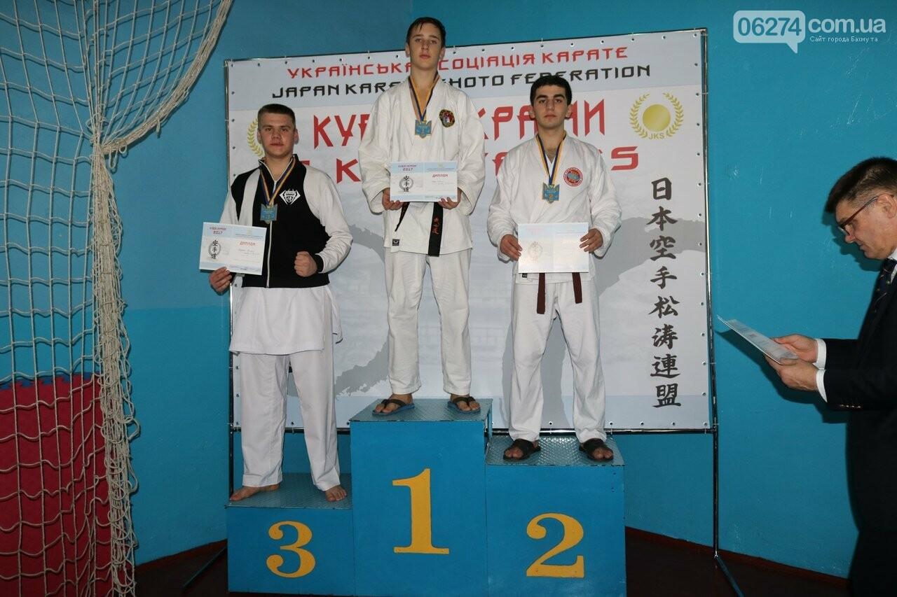 Каратисты Бахмута в составе областной сборной завоевали бронзу на Кубке Украины, фото-4