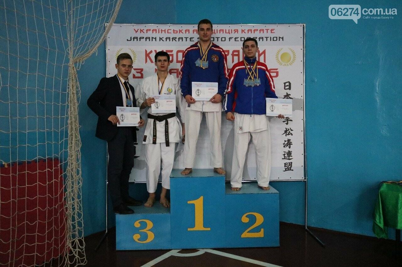 Каратисты Бахмута в составе областной сборной завоевали бронзу на Кубке Украины, фото-5