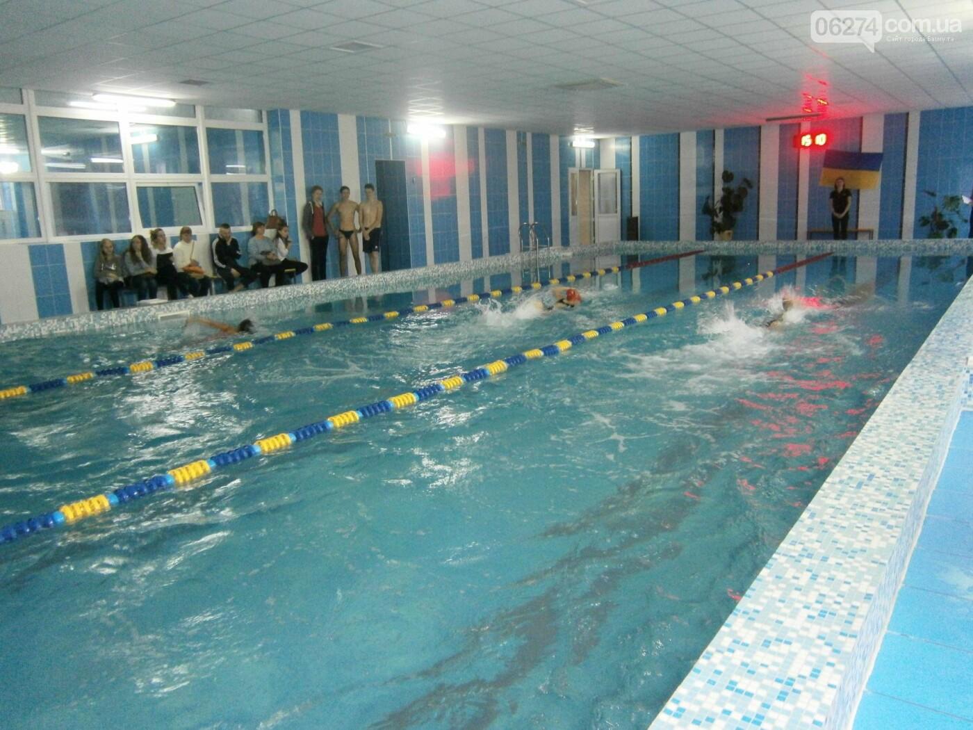 Школьники Бахмута соревновались в плавании, фото-3