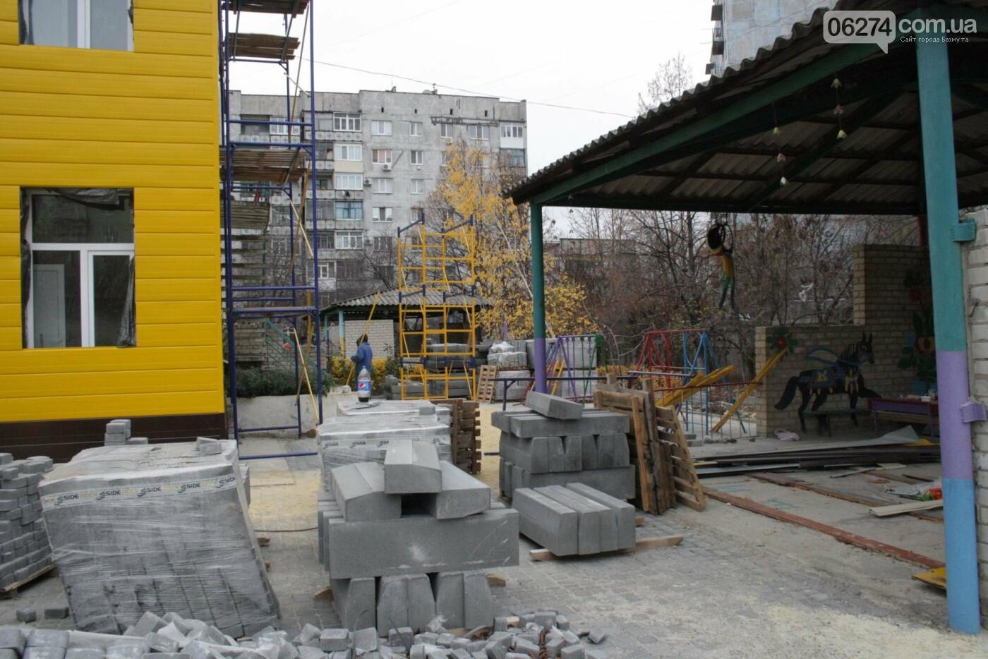 Городской голова Бахмута проинспектировал объекты реконструкции, фото-20