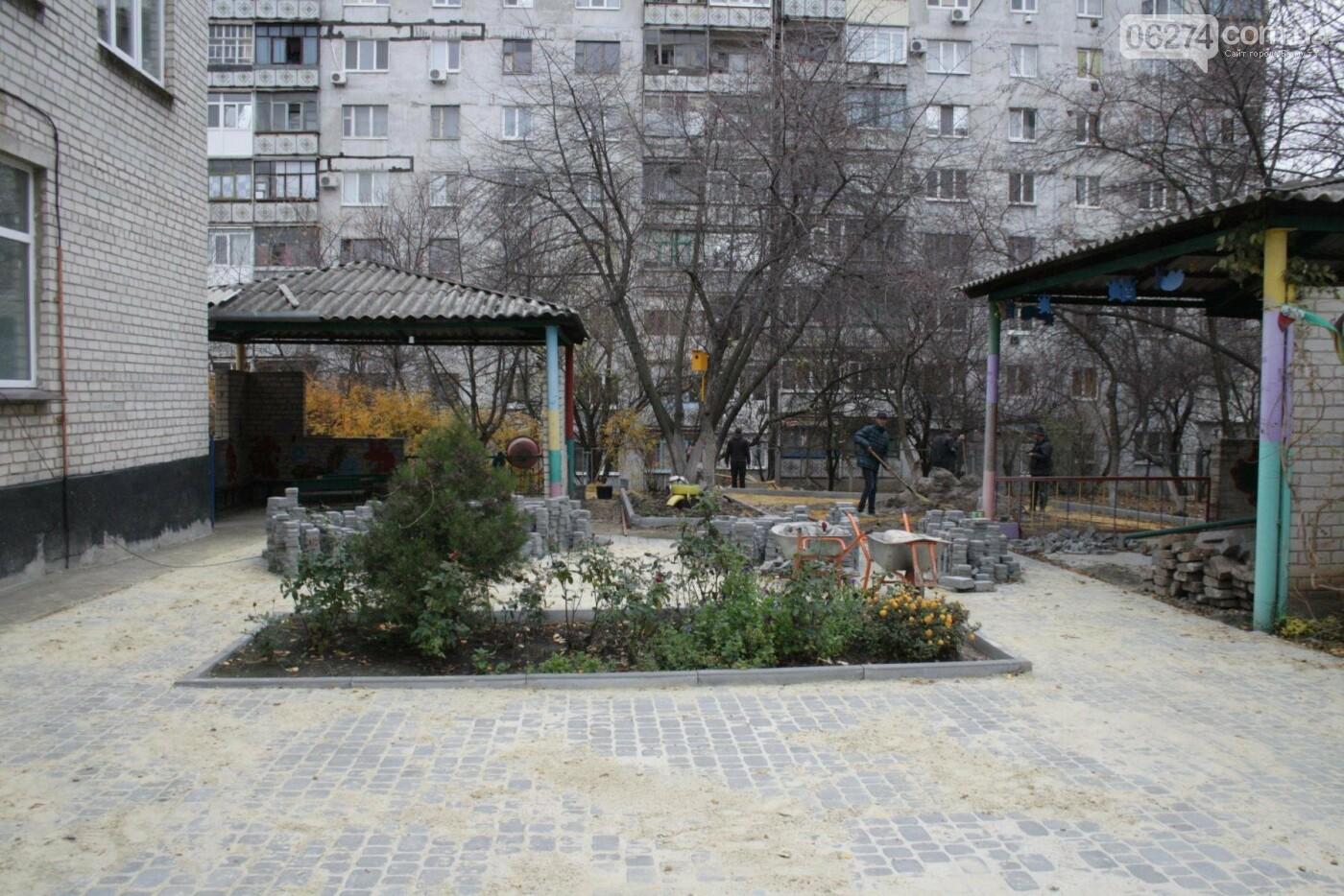 Городской голова Бахмута проинспектировал объекты реконструкции, фото-17