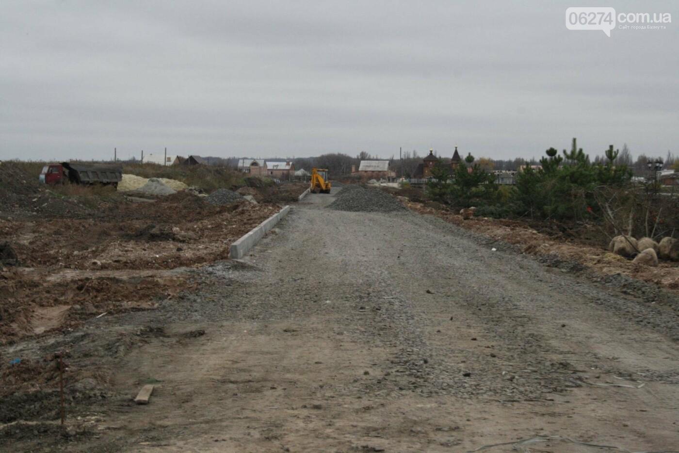 Городской голова Бахмута проинспектировал объекты реконструкции, фото-15
