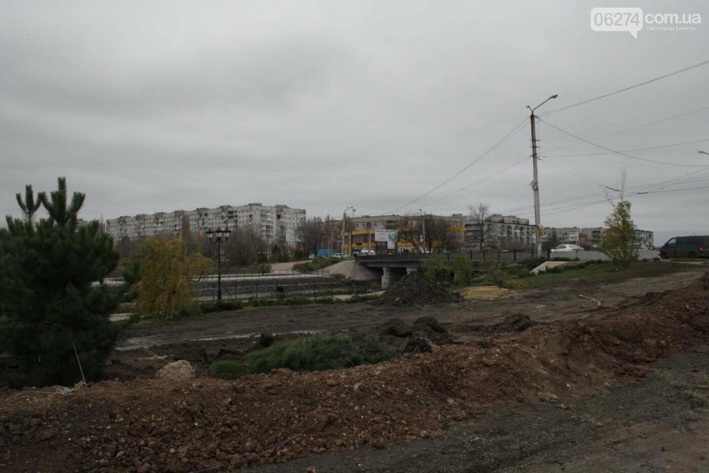Городской голова Бахмута проинспектировал объекты реконструкции, фото-14