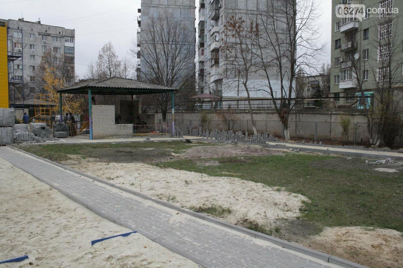Городской голова Бахмута проинспектировал объекты реконструкции, фото-25
