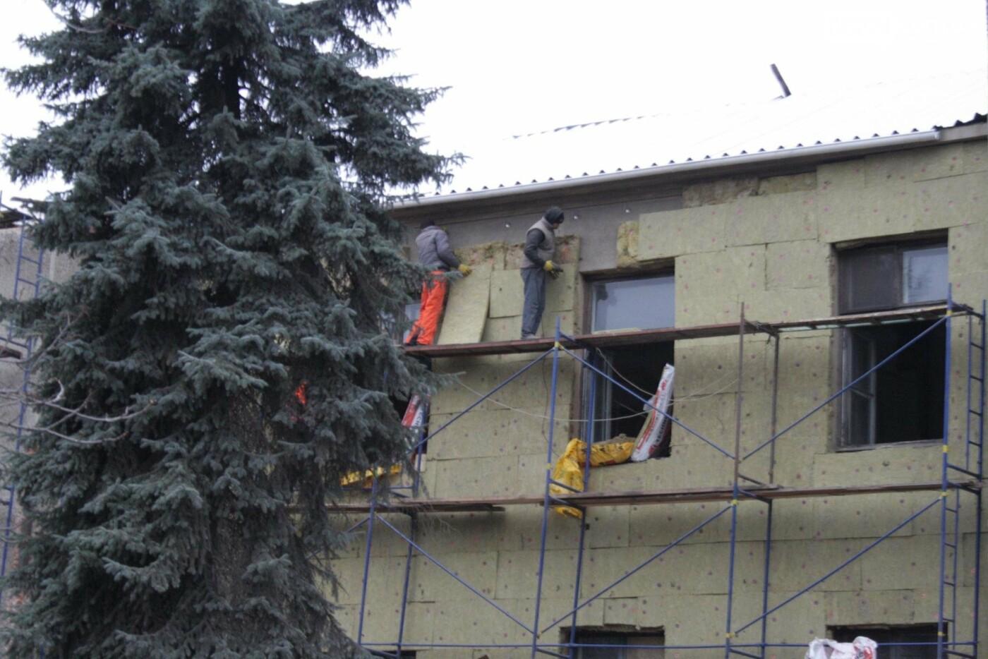 Городской голова Бахмута проинспектировал объекты реконструкции, фото-4