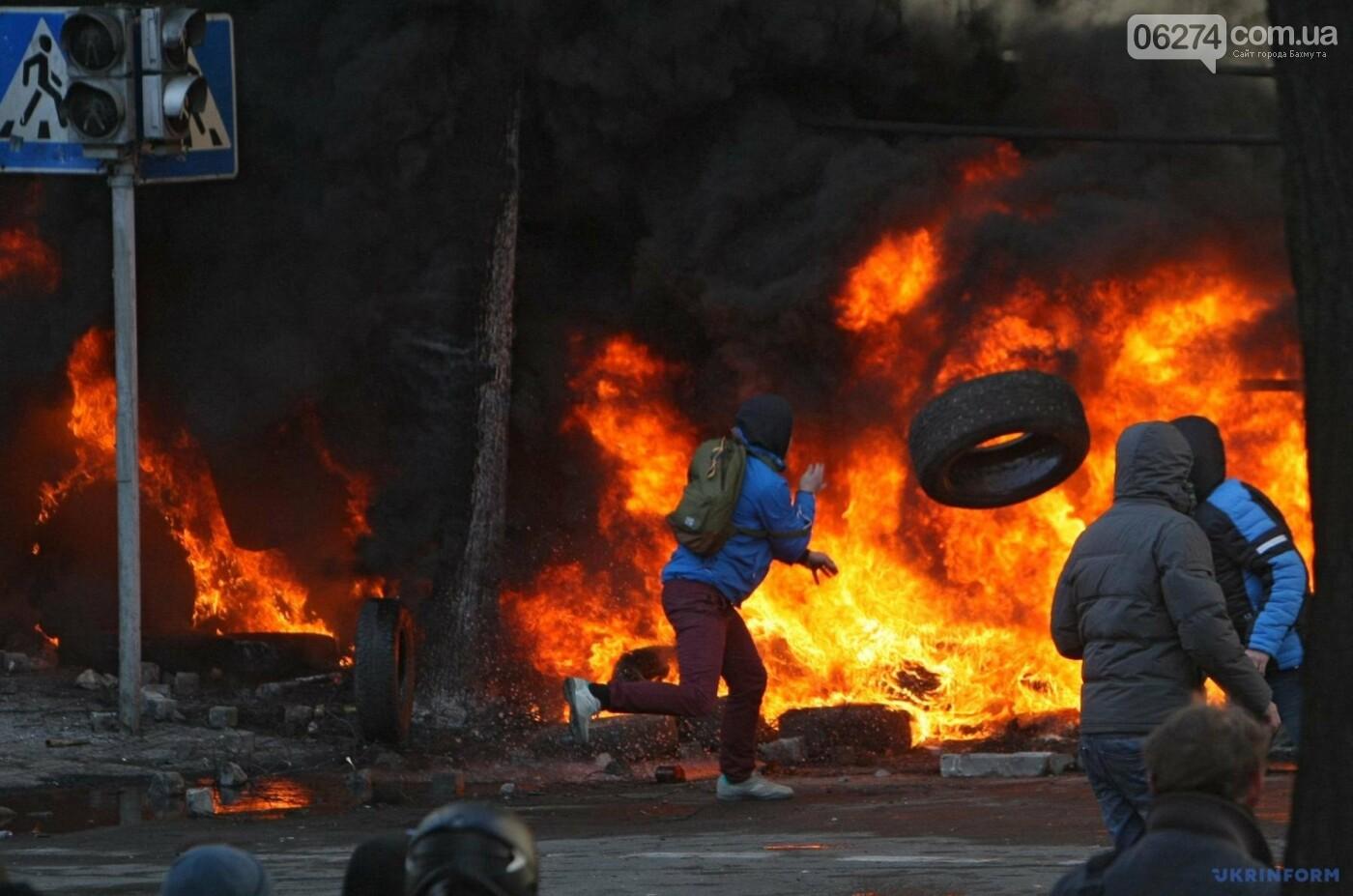Бахмутчане отметили День Достоинства и Свободы, фото-1