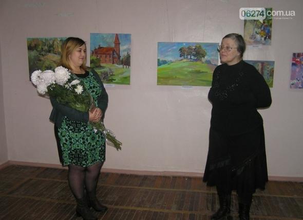 Открытие персональной выставки Инны Абрамовой, фото-1