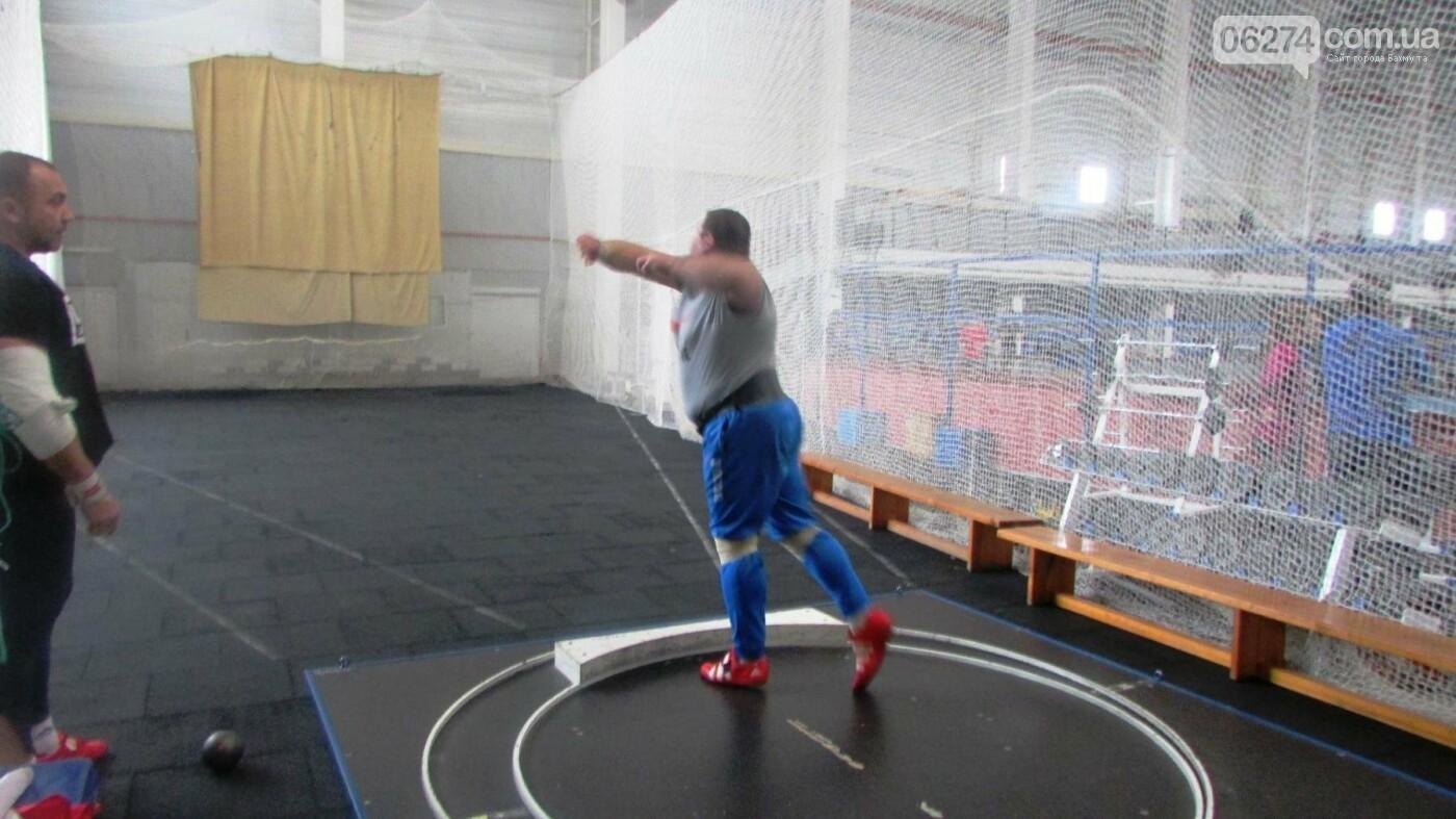 В Бахмуте прошли соревнования для спортсменов с инвалидностью, фото-11