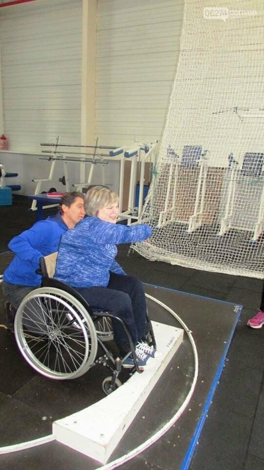 В Бахмуте прошли соревнования для спортсменов с инвалидностью, фото-3
