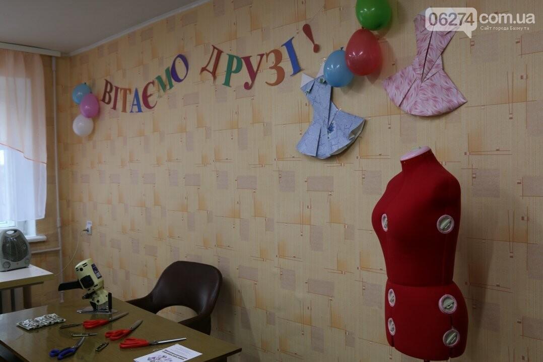 В Бахмуте открылся первый в области центр по подготовке швей, портных и закройщиков, фото-16