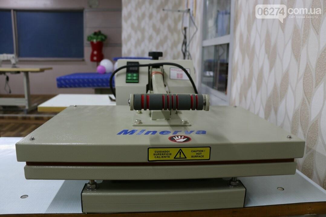 В Бахмуте открылся первый в области центр по подготовке швей, портных и закройщиков, фото-12