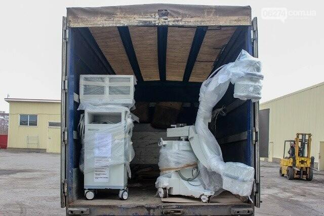 Бахмутской ЦРБ передали мобильный рентген-аппарат из Днепропетровской области, фото-1