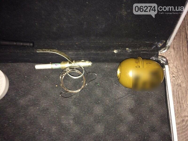 Полицейские Бахмута обнаружили в горожанина арсенал оружия, фото-2