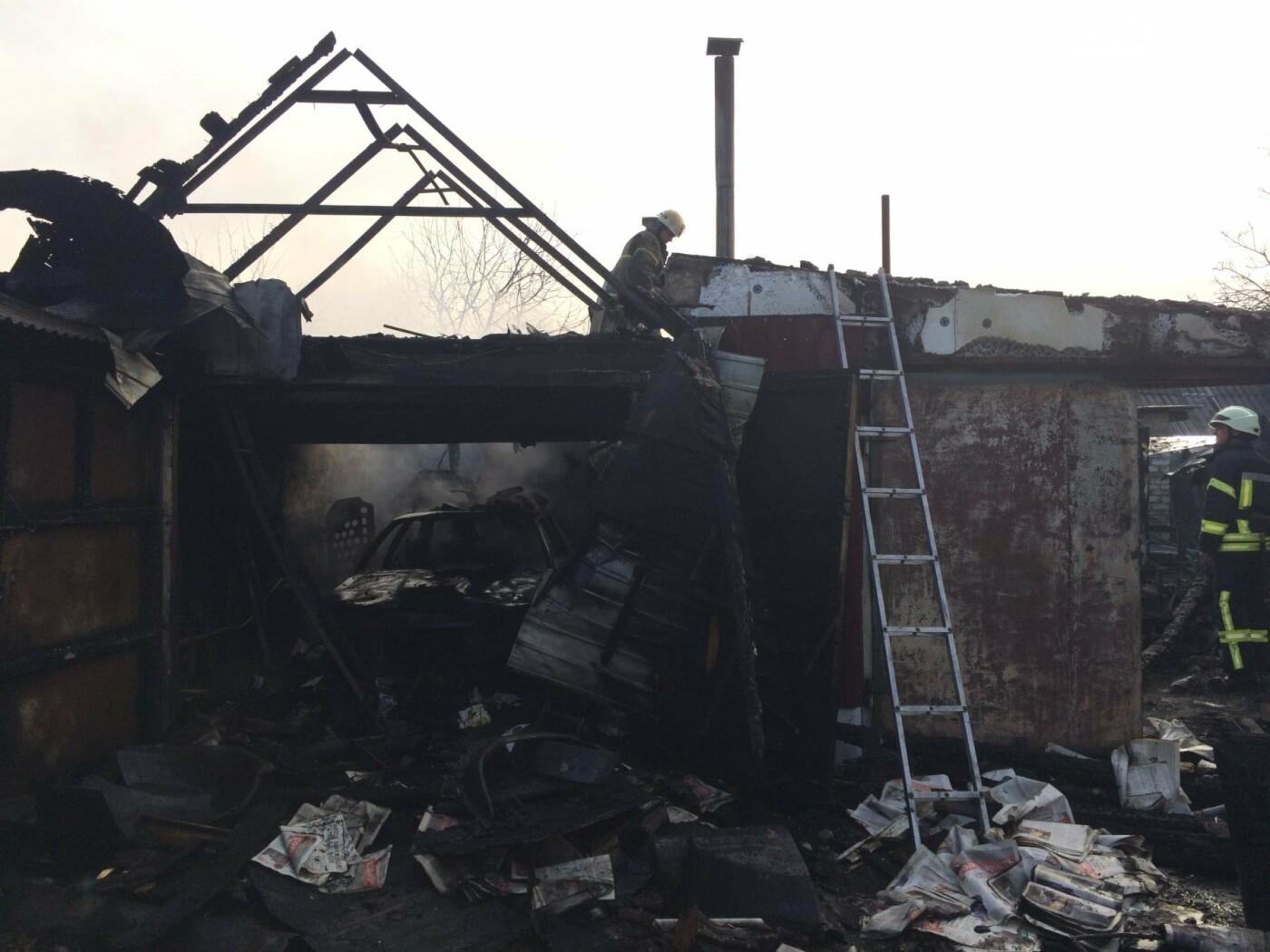 В Бахмутском районе в результате пожара пострадал мужчина, фото-1