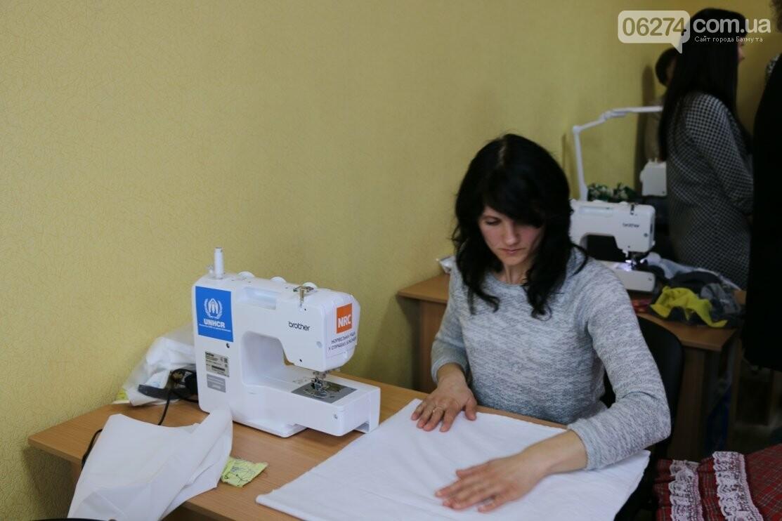 В Бахмуте открыли современный швейный кружок для детей «Перлинка», фото-3