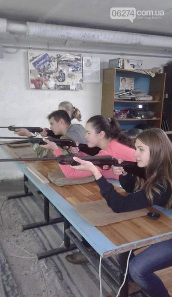 Чемпионат Донецкой области по пулевой стрельбе прошел в Бахмутской школе, фото-2