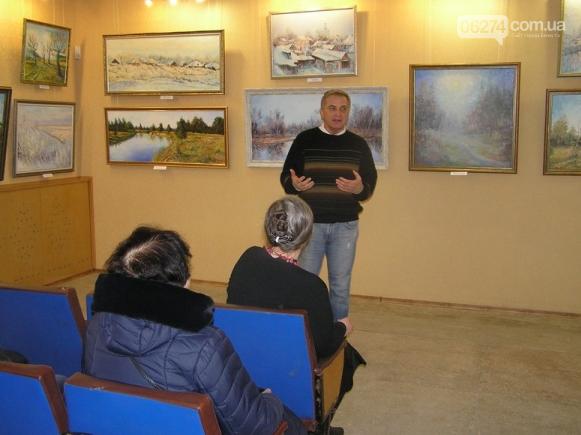 В Бахмуте открылась персональная выставка славянского художника Андрея Кутаны, фото-2