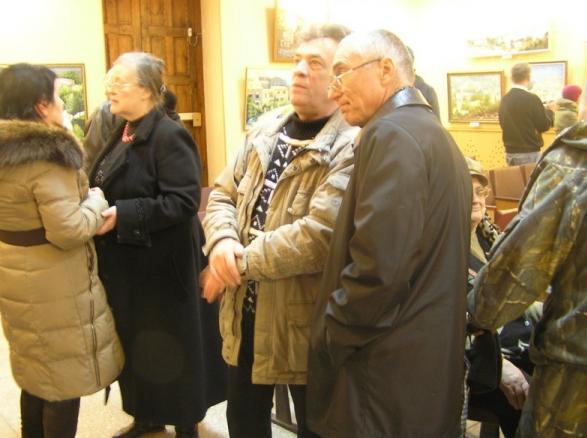 В Бахмуте открылась персональная выставка славянского художника Андрея Кутаны, фото-5