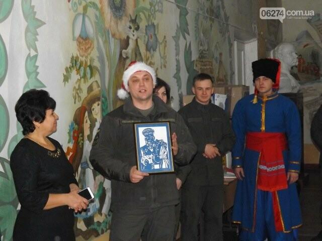 Семьи военнослужащих из Киева прислали подарки детям Бахмутской школы-интерната, фото-2