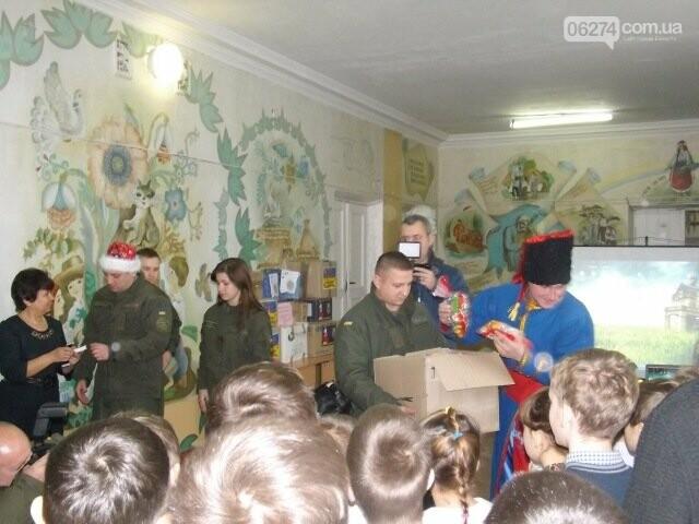 Семьи военнослужащих из Киева прислали подарки детям Бахмутской школы-интерната, фото-1