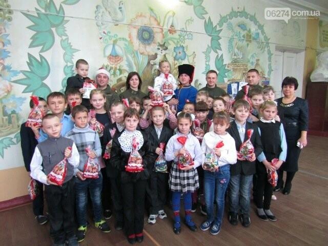 Семьи военнослужащих из Киева прислали подарки детям Бахмутской школы-интерната, фото-4