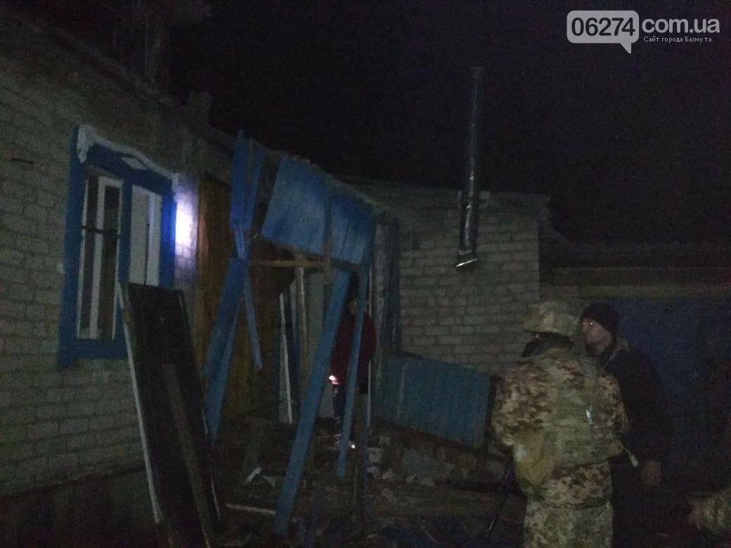 Вчера вечером боевики обстреляли Бахмутский район (ФОТО), фото-1