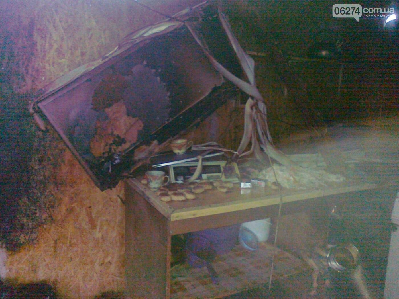 В Бахмуте загорелся киоск с фаст-фудом: пострадала женщина (ДОПОЛНЕНО), фото-1
