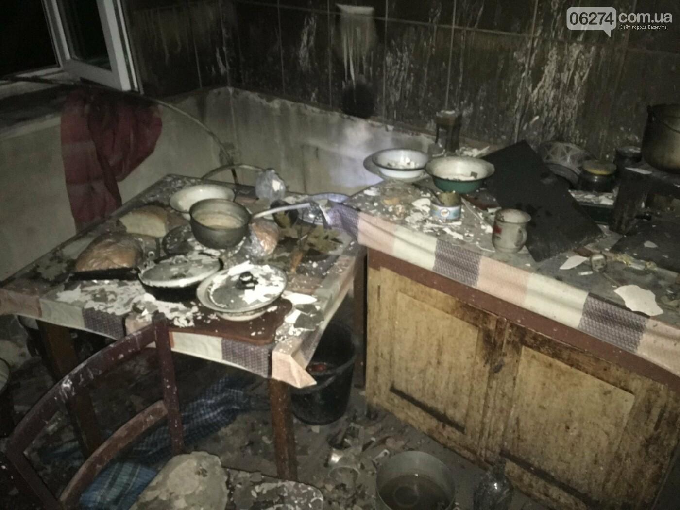 В Бахмутском районе на пожаре погиб мужчина, фото-2