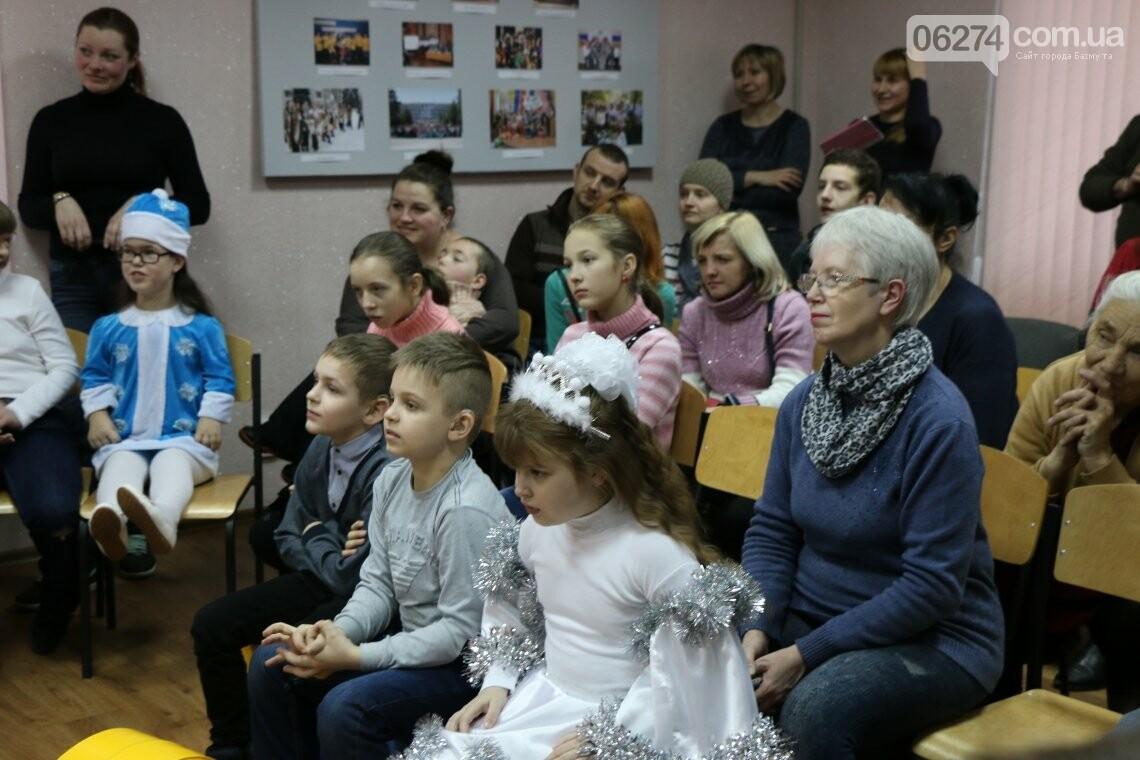 Особенных детей Бахмута поздравили с Новогодними и Рождественскими праздниками, фото-13