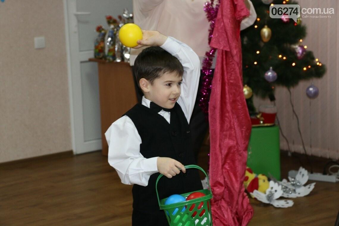 Особенных детей Бахмута поздравили с Новогодними и Рождественскими праздниками, фото-6