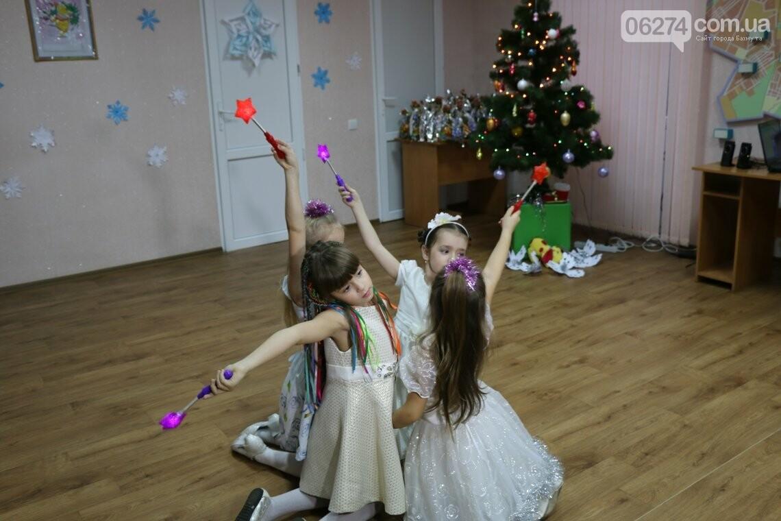 Особенных детей Бахмута поздравили с Новогодними и Рождественскими праздниками, фото-9