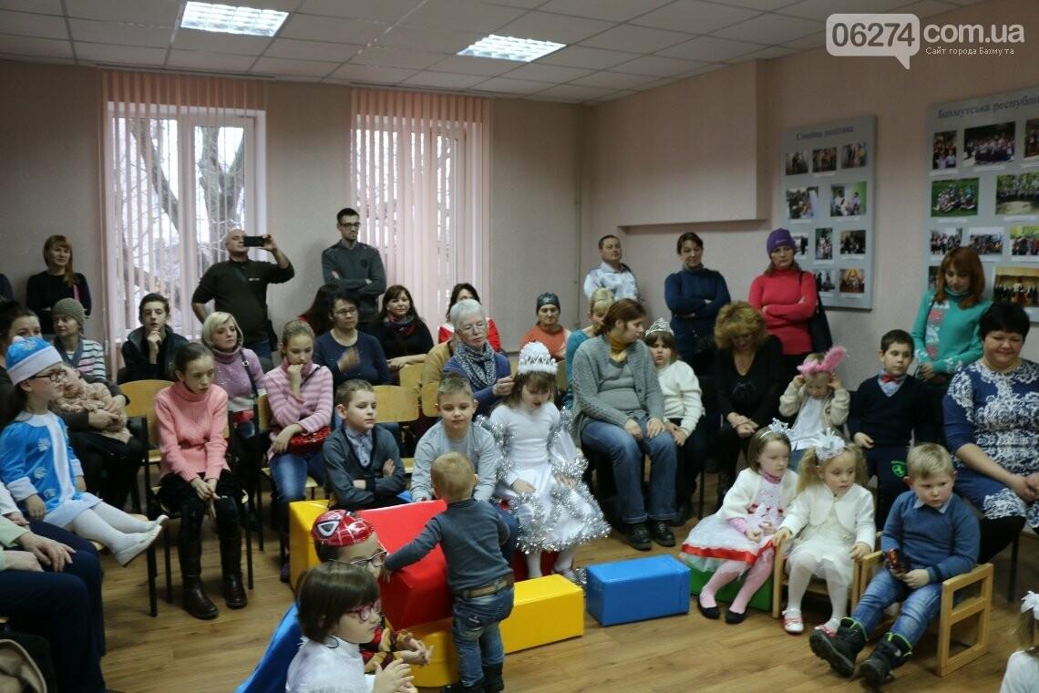 Особенных детей Бахмута поздравили с Новогодними и Рождественскими праздниками, фото-20